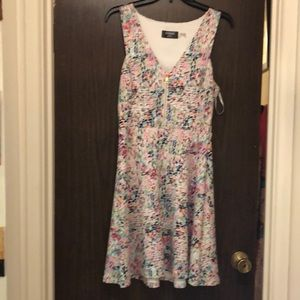 Guess multi colored dress size 10.